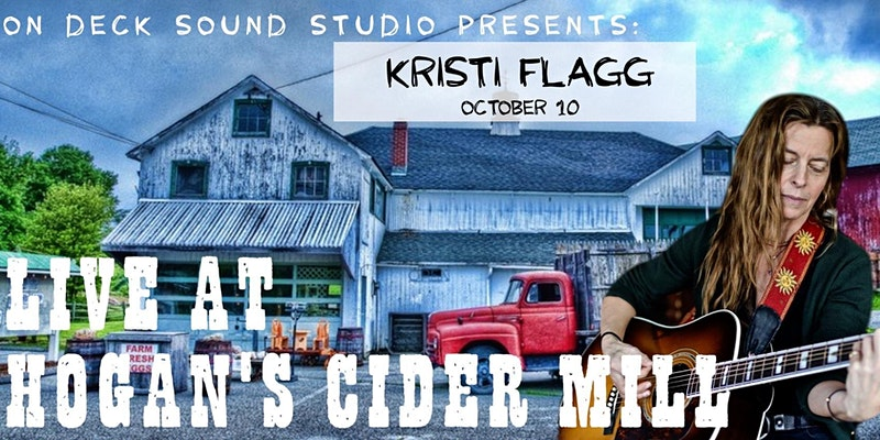 Kristi Flagg live in concert at Hogan's Cider Mill