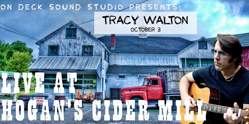 Tracy Walton live in concert at Hogan's Cider Mill